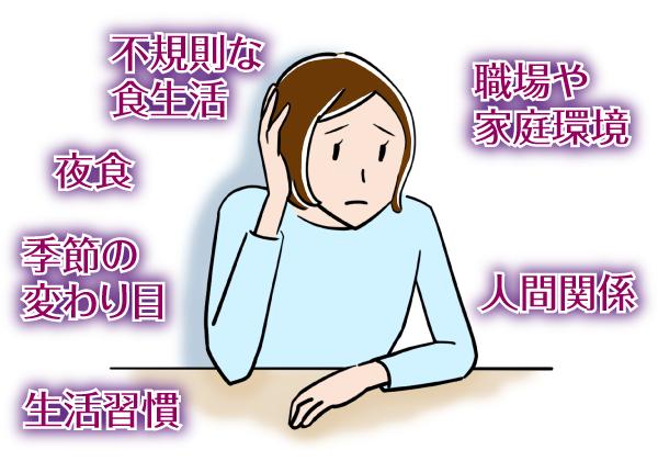 つ病の原因でみなさんが思い浮かぶものと言えば「ストレス」