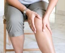 変形性膝関節症の症例の画像